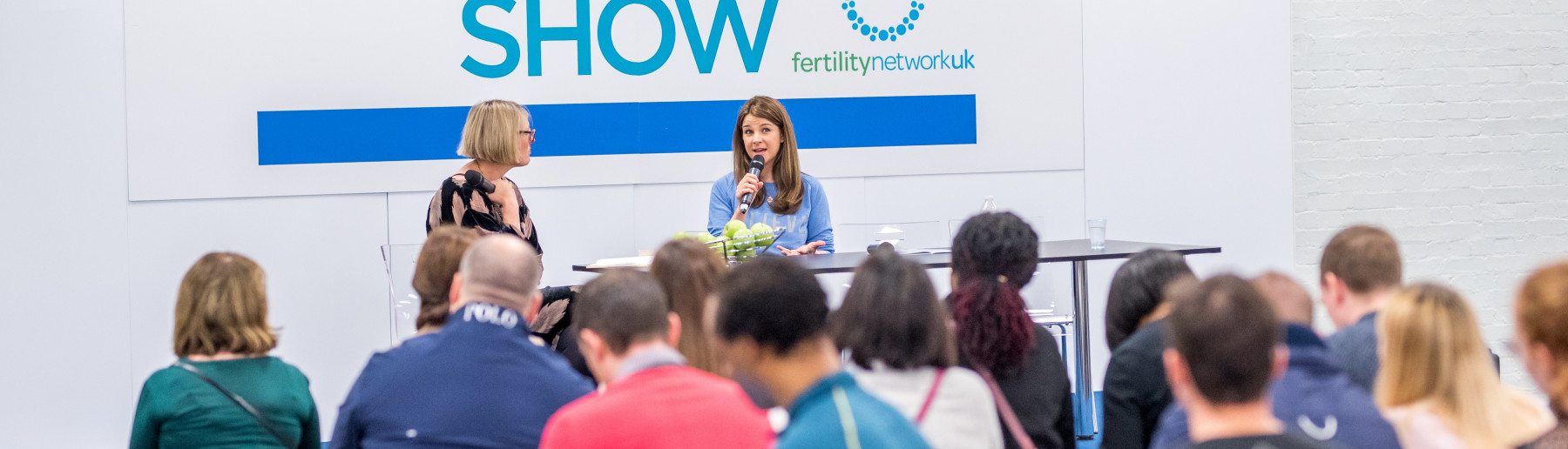 Let's Talk Fertility Stage, in association with Fertility Network UK and IVF babble
