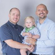 Wes Johnson-Elis Father via UK Surrogacy